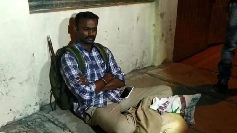 IPS officer stages sit-in outside home of ex-wife