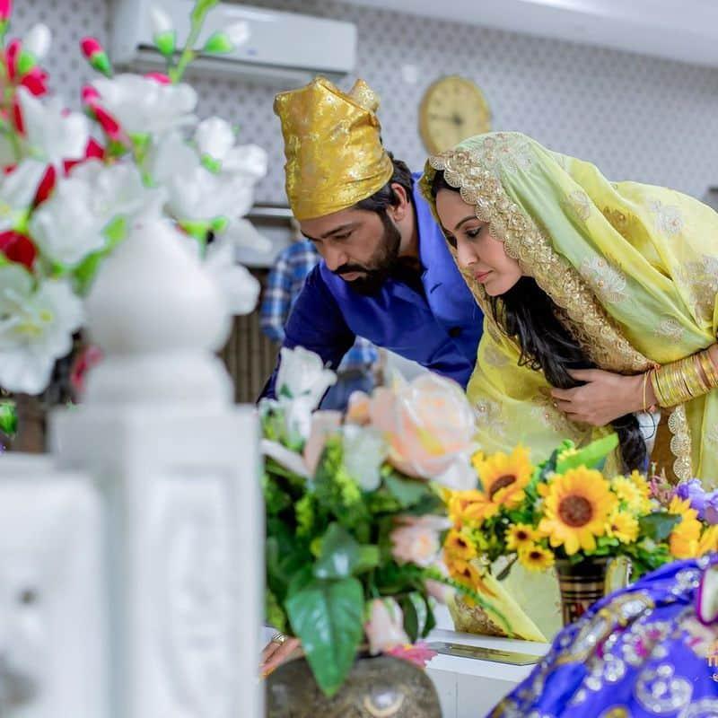 கம்யா பஞ்சாபி - ஷாலாப் டங் நிச்சயதார்த்தம்
