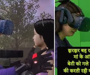 Emotional video of Mother reunites with dead daughter through virtual reality goes viral kph