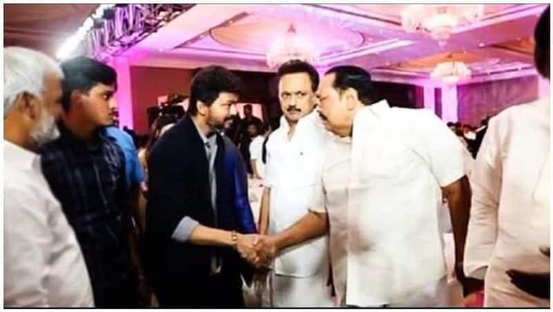 DMK leader Vijay .. !! Shocking incident that shakes the political spectrum