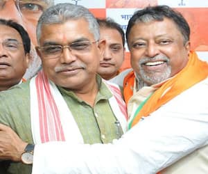 Dilip Ghosh change his stand on BJP leader Mukul Roy BTD