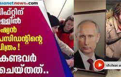 russian man puts picture of vladimir putin in elevator prank neighbours