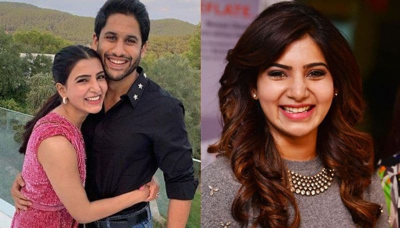 Actress Samantha Open Talk about Husband Nagachaitanya