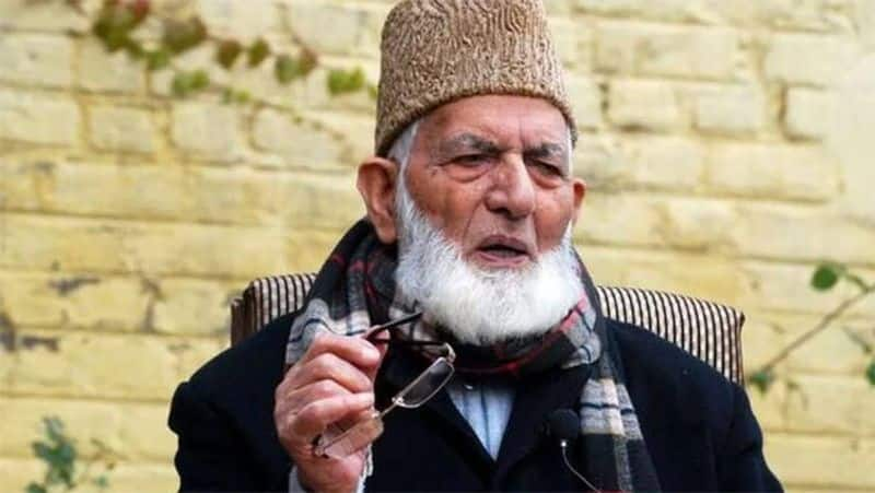 Separatist leader Syed Ali Geelani resigns as head of Hurriyat Conference