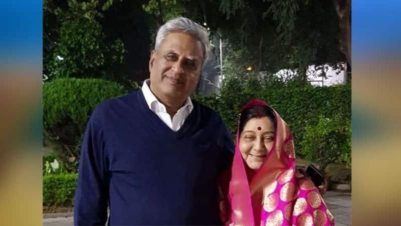 Late Minister Sushma suvaraj's birthday