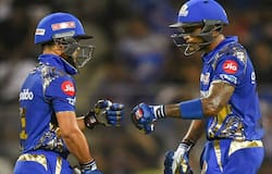 <p>Playing at home and put into bat, MI posted a modest total of 165/4, courtesy of three splendid innings from Ishan Kishan (40), Suryakumar Yadav (43) and Krunal Pandya (41 not out).</p>