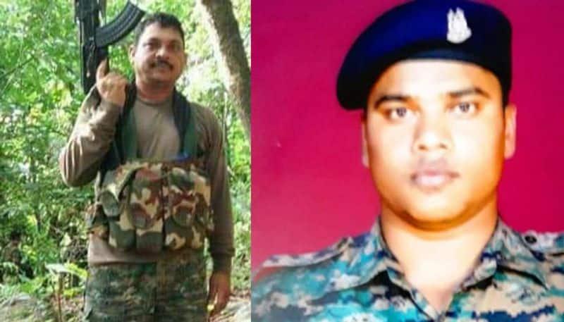 Left: Head Constable Hemraj Meena - 61 BN (Rajasthan); Right: Constable Manoja KR Behera - 82 BN (Odisha)