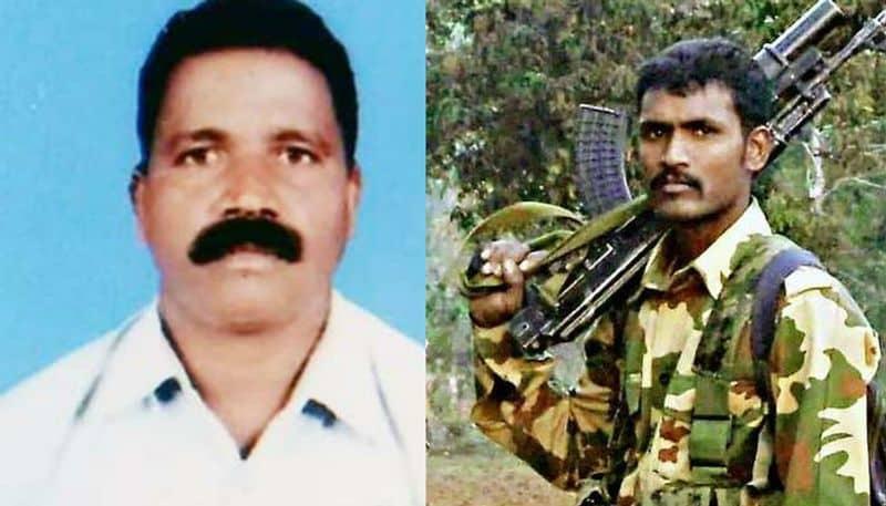 Left: Head Constable Vijay Soreng - 82 BN (Jharkhand); Right: Constable Guru H. - 82 BN (Karnataka)