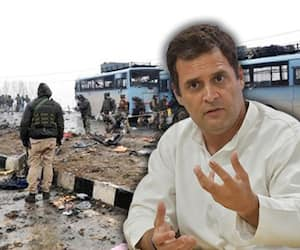 Rahul Gandhi needs to question Imran Khan, ISI on Pulwama, not the Indian government