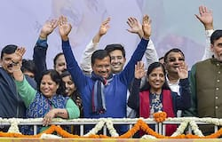 Kejriwal oath ceremony as CM for the third time at Delhi's Ramlila Maidan kps