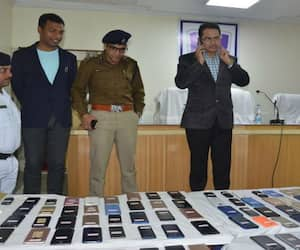 Chandannagore police recovers more than two hundred lost mobiles