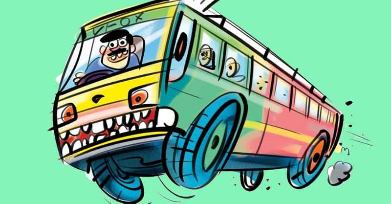 Private bus owners trick to avoid clash of workers