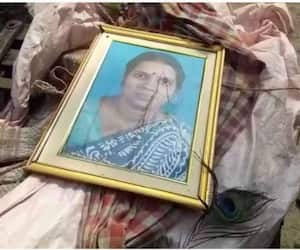 Husband commits suicide tying picture of his wife on his chest
