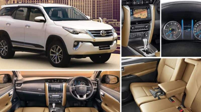 the all new toyota fortuner with bs 6 engine launch in inidia