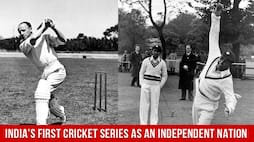 Indian Cricket Highlights: India's First Cricket Series As An Independent Nation