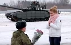 soldier propose