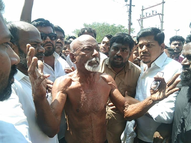 protest happened in Madurai against caa and cab , one try to suicide in protest