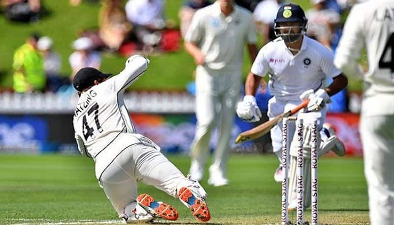 rahane first time involved in run out in test cricket because of rishabh pant video