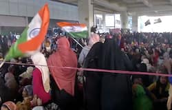 AntI-CAA protest leads to closure of metro station in Delhi's Jaffrabad
