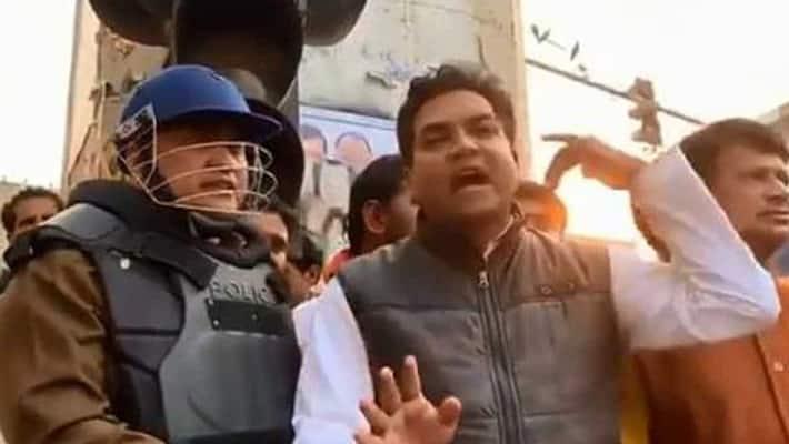 BJP leader Kapil Mishra has given a 3 day ultimatum to Delhi Police kpn