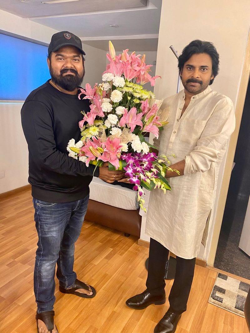 Bheeshma Director Venky Kudumula meets Pawan Kalyan