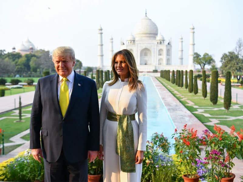 राष्ट्रपति ने आगरा यात्रा के दौरान भारत के लोगों का शुक्रिया भी कहा।
