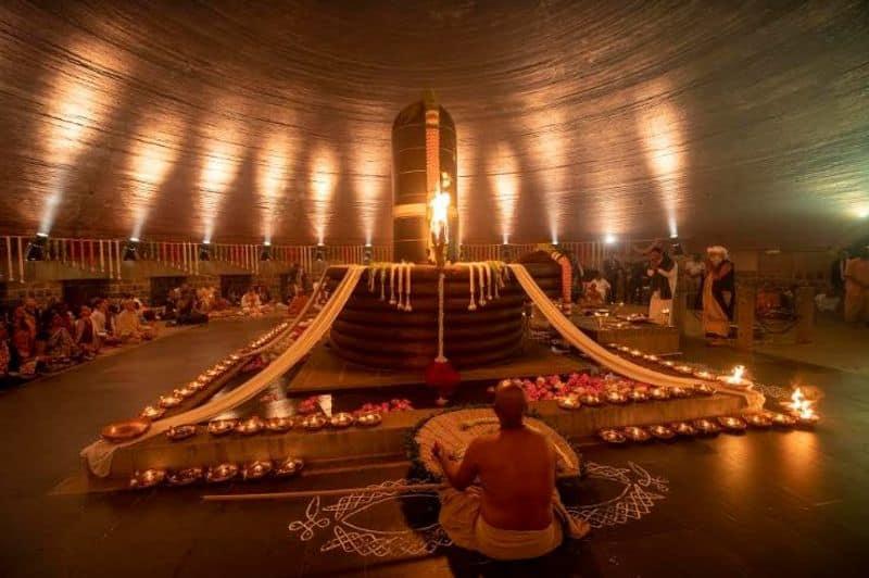 venakaiya naidu participated in isha foundation