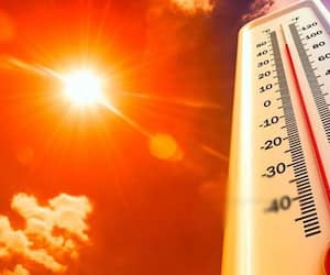 warning to 11 districts as heat wave increases
