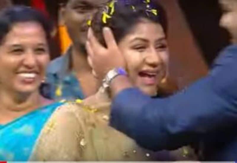 aalya manasa bangle ceremony in vijay tv set