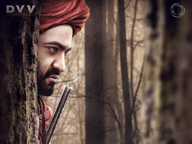 NTR In Three Roles in #RRR Movie