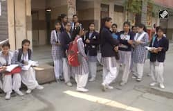 Students appear for CBSE Board exams in riot-affected Northeast Delhi