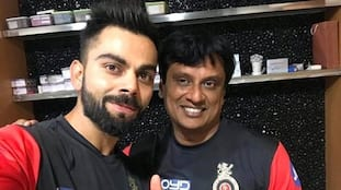 IPL 2021: Virat Kohli launches RCB fitness coach Basu Shanker's book on Strength and Conditioning-ayh