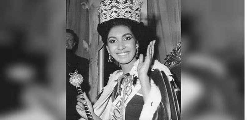 Reita Faria Powel - First Asian woman to win Miss World  As early as 1966, Reita Faria Powel won the Miss World title. She late became a doctor!