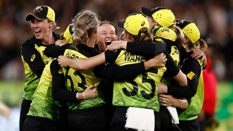 Australia lift Womens T20 World Cup for the fifth time as they beat India by 85 runs in the finals