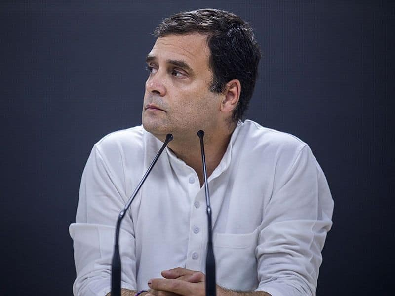 Loss of face for Rahul Gandhi as his approval rating stands at a dismal 0.58%