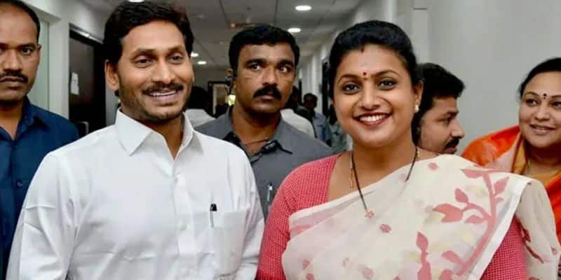 MLA Roja Shares YCP Launching video in social media with the name of history Making Event