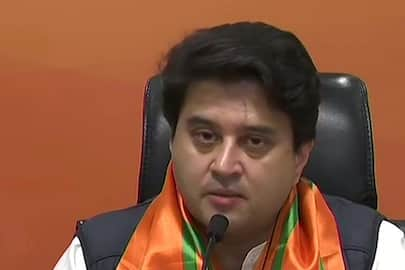 Jyotiraditya Scindia joins BJP, attacks Congress party kps