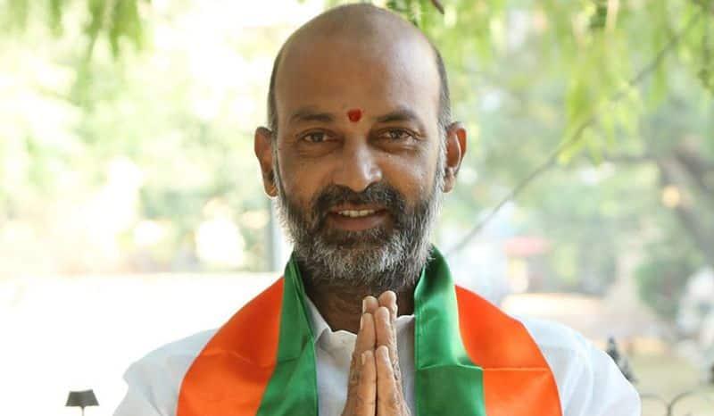 BJP Telangana president Bandi Sanjay responds on PRC report lns