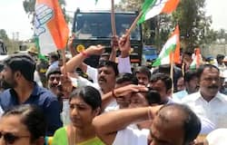MP crisis: Youth Congress workers encircle Golfshire resort, police take them into custody