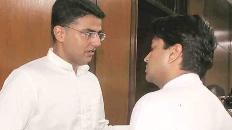 rajasthan dy cm sachin pilot tweet over jyotiraditya scindia leaves congress party