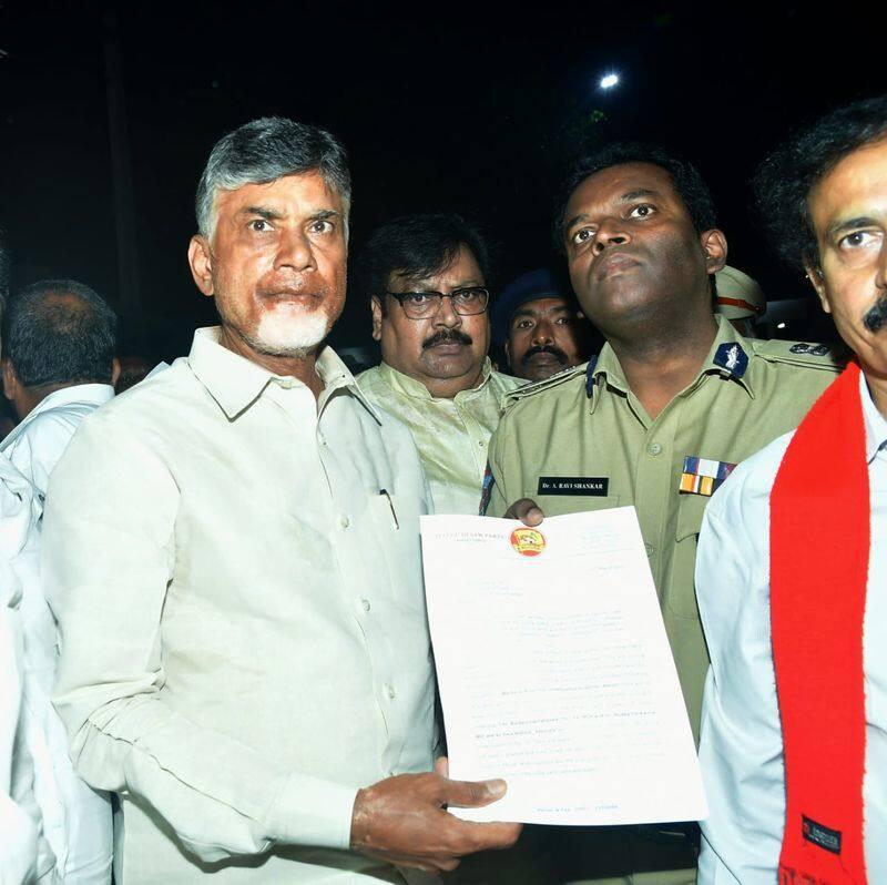 TDP Chief Chandrababu  writes letter to AP EC Ramesh Kumar