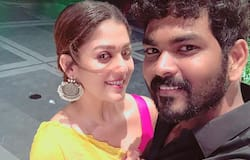<p>The filmmaker posted an image of Nayanthara with a cute baby in her arms and standing near a sea beach.</p>