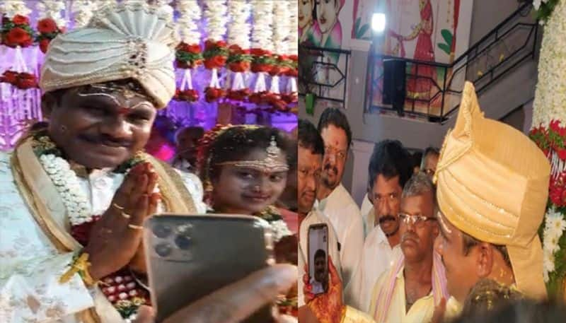 Coronavirus effect... TRS MP Santhosh not attended his gunman marriage