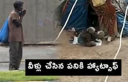Old women clang utensils for Thanking Frontliners at Hyderabad