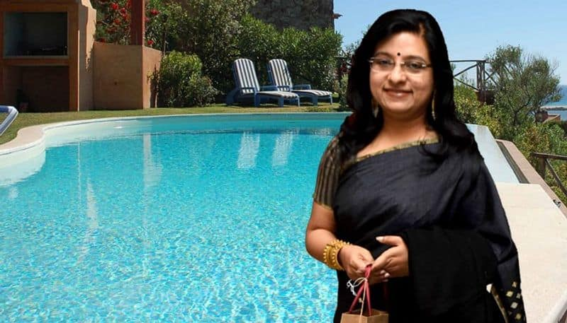dona ganguly's swimming pool operate in the lock down question arise of her awareness
