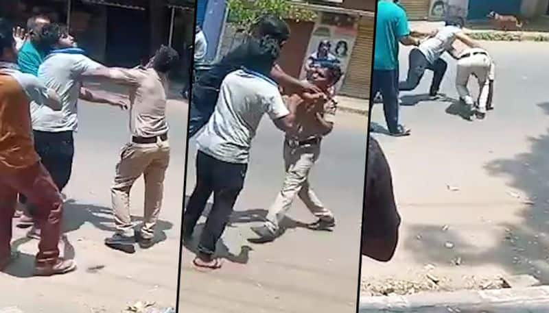 Virus Viral: SI Mercilessly Beating Youngster, Suspended