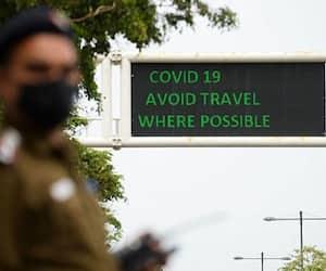 cops in kovid 19 days robin k mathew in speak up