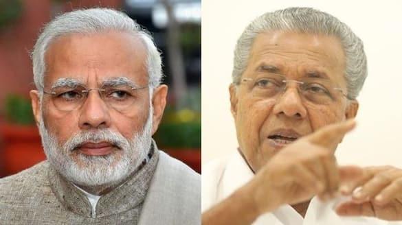 Kerala Flood: PM Modi talks with CM Pinarayi Vijayan