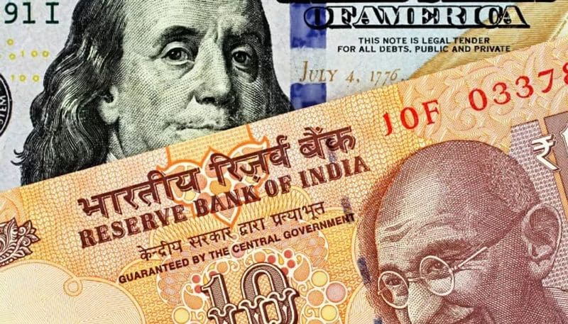 Indian rupee move above the 76 mark
