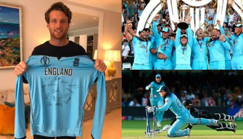 Jos Buttler's World Cup Final shirt sold in 65,000 pounds In auction for fight against Coronavirus